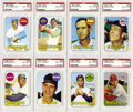 Baseball Cards:Lots, 1969 Topps PSA-Graded NM-MT 8 Collection (104). Overwhelming amountof high-grade cardboard from the 1969 Topps baseball iss...