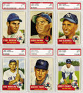 Baseball Cards:Lots, 1953 Topps PSA-Graded NM 7 Collection (22). Terrific group ofhigh-grade cards from the popular 1953 Topps baseball series. ...