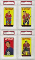 "Hockey Cards:Lots, 1964/65 Topps Hockey PSA-Graded NM-MT 8 Collection (24). Offered isa high grade collection of the popular ""tall boy"" issue...."