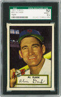 Baseball Cards:Singles (1950-1959), 1952 Topps Al Dark #351 SGC 92 NM/MT+ 8.5. From the very first setof Topps we come upon one of the all-important high numb...