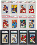 Football Cards:Sets, 1952 Bowman Small Football High Grade Complete Set (144). Presented is a high grade example of this popular early 1950s rele...