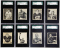 Football Cards:Sets, 1948 Bowman Football Complete Set (108). Presented is a 1948 Bowmanfootball complete set. This was the first set to include...