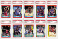 Basketball Cards:Sets, 1986-87 Fleer Basketball High-Grade Complete Set (132) with Stickers. Offered is a high grade 1986/87 Fleer Basketball set. ...