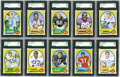 Football Cards:Sets, 1970 Topps Football High Grade Complete Set (263). Offered is a high grade 1970 Topps Football Set. This set is highlighted ...
