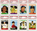 Baseball Cards:Lots, 1964 Topps PSA-Graded MINT 9 Collection (33). High-grade groupingoffers tremendous break up value or an opportunity to upgr...