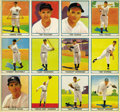 "Baseball Cards:Lots, 1941 Play Ball ""Paper Version"" Complete Set on Two Uncut Sheets. The 1941 Play Ball paper set was issued in two sheets of tw..."