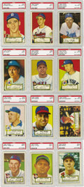 Baseball Cards:Lots, 1952 Topps PSA High Grade Collection (86). Offered is a high grade1952 Topps PSA graded lot. There are many well centered e...
