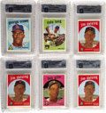 Baseball Collectibles:Others, 1959 Topps Baseball Cello Packs GAI Graded NM+ 7.5 Lot of 6. Everypack has been graded NM+ 7.5 by GAI. What more can be sai...
