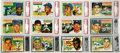 Baseball Cards:Sets, 1956 Topps Baseball Complete Set with Checklists (340). Offered isa mid to high grade 1956 Topps Baseball Set, with 35% of...
