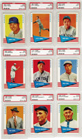 Baseball Cards:Sets, 1961 Fleer Baseball Greats High Grade Complete Set (154). For the second consecutive year, Fleer issued a set utilizing the ...