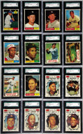 Baseball Cards:Sets, 1961 Topps Baseball High Grade Complete Set (587). Offered is ahigh grade 1961 Topps Set. With a total of 32 cards having b...