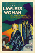 "Movie Posters:Crime, The Lawless Woman (Chesterfield, 1931). One Sheet (27"" X 41"")...."