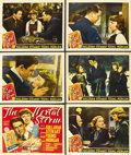 "Movie Posters:Drama, The Mortal Storm (MGM, 1940). Title Lobby Card and Lobby Cards (5)(11"" X 14""). ... (Total: 6 Items)"