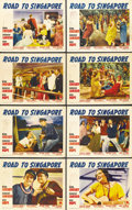 "Movie Posters:Comedy, Road to Singapore (Paramount, 1940). Lobby Card Set of 8 (11"" X14""). ... (Total: 8 Items)"