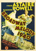"Movie Posters:Musical, Broadway Melody of 1940 (MGM, 1940). Midget Window Card (8"" X11.5""). ..."