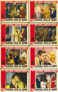 "Movie Posters:Adventure, The General Died at Dawn (Paramount, 1936). Lobby Card Set of 8(11"" X 14"").... (Total: 8 Items)"