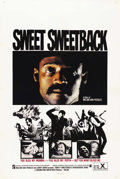"Movie Posters:Blaxploitation, Sweet Sweetback's Baadasssss Song (Cinemation Industries, 1971). One Sheet (27"" X 41""). ..."