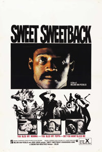 "Sweet Sweetback's Baadasssss Song (Cinemation Industries, 1971). One Sheet (27"" X 41"")"