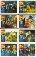 "Movie Posters:Science Fiction, World Without End (Allied Artists, 1956). Lobby Card Set of 8 (11"" X 14""). ... (Total: 8 Items)"