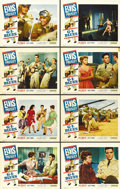 "Movie Posters:Elvis Presley, G.I. Blues (Paramount, 1960). Lobby Card Set of 8 (11"" X 14""). ...(Total: 8 Items)"