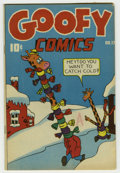Golden Age (1938-1955):Funny Animal, Goofy Comics #17 (Nedor Publications, 1946) Condition: FN+.Overstreet 2006 FN 6.0 value = $30; VF 8.0 value = $56....