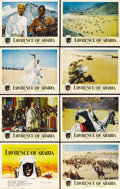 "Movie Posters:Academy Award Winner, Lawrence of Arabia (Columbia, 1962). Lobby Card Set of 8 (11"" X14""). ... (Total: 8 Items)"