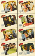 "Movie Posters:Science Fiction, The Blob (Paramount, 1958). Lobby Card Set of 8 (11"" X 14""). ...(Total: 8 Items)"