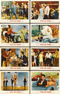 "Viva Las Vegas (MGM, 1964). Lobby Card Set of 8 (11"" X 14"").... (Total: 8 Items)"