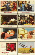 """Movie Posters:Hitchcock, North by Northwest (MGM, 1959). Lobby Card Set of 8 (11"""" X 14"""").... (Total: 8 Items)"""