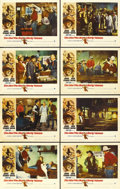 "Movie Posters:Western, The Man Who Shot Liberty Valance (Paramount, 1962). Lobby Card Setof 8 (11"" X 14""). ... (Total: 8 Items)"