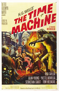 "The Time Machine (MGM, 1960). One Sheet (27"" X 41"")"