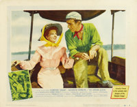 """The African Queen (United Artists, 1952). Lobby Card (11"""" X 14"""")"""