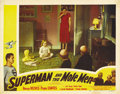"Movie Posters:Action, Superman and the Mole Men (Lippert, 1951). Lobby Cards (2) (11"" X14""). ... (Total: 2 Items)"