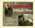 "Movie Posters:Western, Hellhounds of the Plains (Goodwill Pictures, 1926). Title Lobby Card (11"" X 14""). ..."