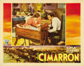"Movie Posters:Western, Cimarron (RKO, 1931). Lobby Card (11"" X 14""). ..."