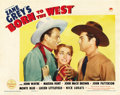 "Movie Posters:Western, Born To the West (Paramount, 1937). Lobby Card (11"" X 14""). ..."