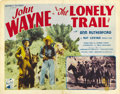 "Movie Posters:Western, The Lonely Trail (Republic, 1936). Title Lobby Card and Lobby Card (11"" X 14""). ... (Total: 2 Items)"