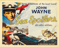 """Movie Posters:Action, Sea Spoilers (Universal, 1936). Title Lobby Card (11"""" X 14""""). ..."""