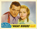 "Movie Posters:Western, The Night Riders (Republic, 1936). Lobby Card (11"" X 14""). ..."