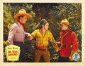 "Movie Posters:Western, The Trail Beyond (Monogram, 1934). Lobby Card (11"" X 14"")...."