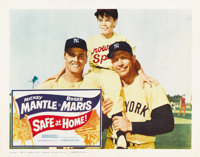 """Safe at Home (Columbia, 1962). Lobby Cards (2) (11"""" X 14""""). ... (Total: 2 Items)"""