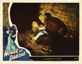 "Movie Posters:Horror, House of Dracula (Universal, 1945). Lobby Card (11"" X 14""). ..."