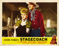 "Movie Posters:Western, Stagecoach (United Artists, R-1948). Lobby Cards (5) (11"" X 14"").... (Total: 5 Items)"