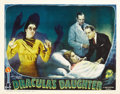 "Movie Posters:Horror, Dracula's Daughter (Universal, 1936). Lobby Card (11"" X 14""). ..."