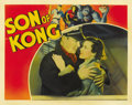 "Movie Posters:Horror, Son of Kong (RKO, 1933). Lobby Card (11"" X 14"")...."