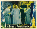 "Movie Posters:Horror, The Bride of Frankenstein (Universal, 1935). Lobby Card (11"" X 14"")...."