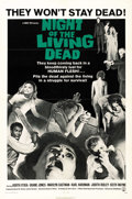 "Movie Posters:Horror, Night of the Living Dead (Continental, 1968). One Sheet (27"" X41""). ..."