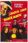 "Movie Posters:Mystery, Black Magic (Monogram, 1944). One Sheet (27"" X 41""). ..."