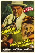 "Movie Posters:Mystery, Shadows Over Chinatown (Monogram, 1946). One Sheet (27"" X 41""). ..."