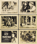 """Movie Posters:Western, Prairie Trails (Fox, 1920). Title Lobby Card and Lobby Cards (5) (11"""" X 14"""").. ... (Total: 6 Items)"""